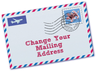 How To Change The Address